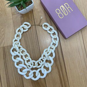 8 Other Reasons X REVOLVE Chunky White Necklace